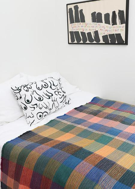 Travis Meinolf Small Handwoven Blanket #3