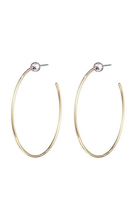 Jenny Bird Icon Hoops - Gold/Rhodium