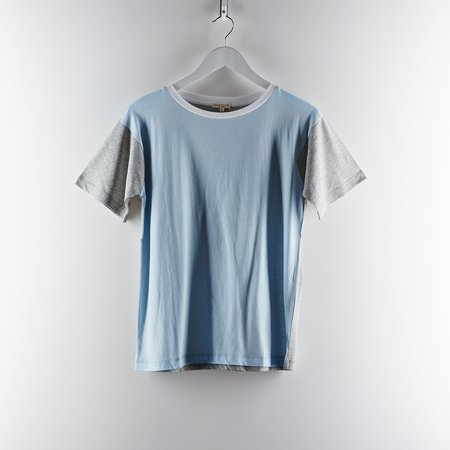 Demy Lee Colour Block Tee - Grey/Blue