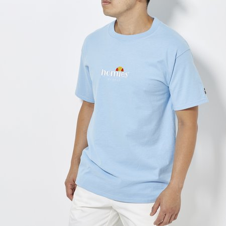 For the Homies Homies Italia Tee - Baby Blue