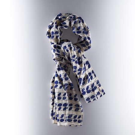 The Hillside Scarf - Endo Leaves Print