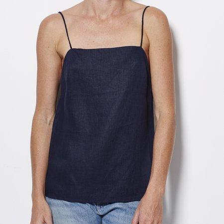 Matin Square Neck Top - Ink