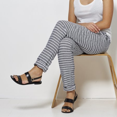 Lemlem Striped Pants - Navy