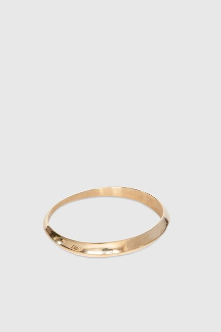 Jasmin Sparrow Bangle No. 2 - Gold Plated Silver