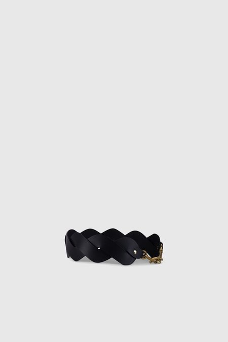 Yu Mei Braided Strap - Black