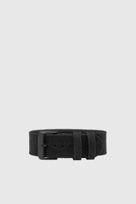 Unisex TID Watches Coal Twain Wristband - Coal/Black