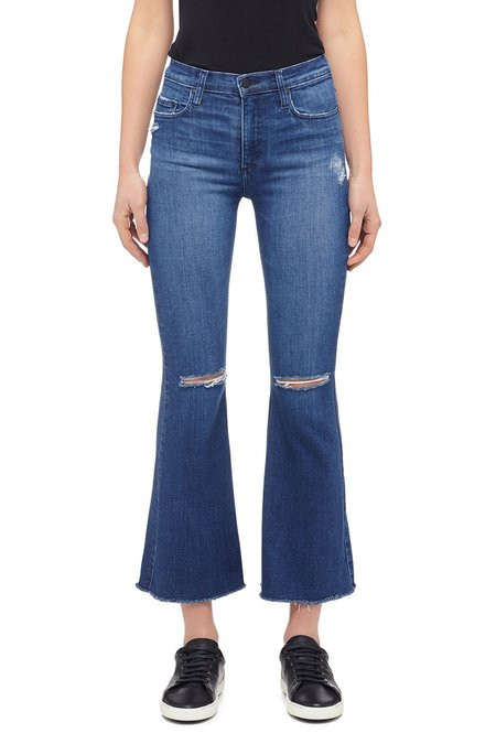 Nobody Denim Cult Flare Ankle Jean - Brilliance