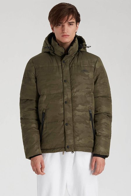 Penfield Equinox Camo Jacket - Olive
