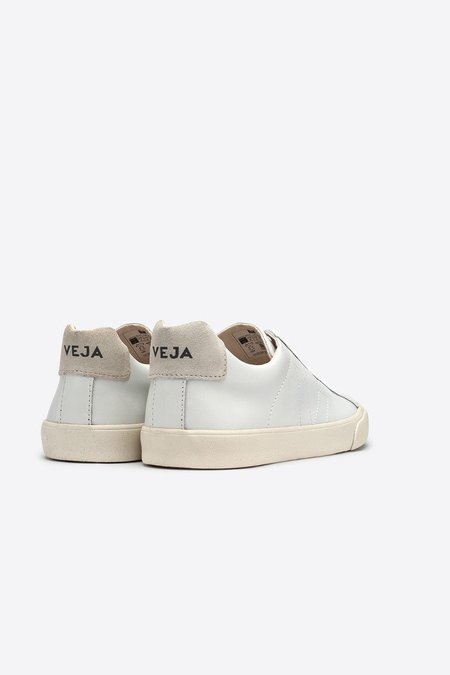 UNISEX VEJA Esplar Low Leather - White