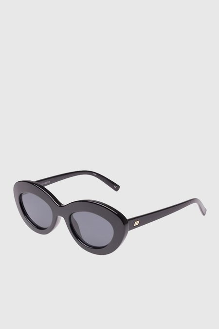 Unisex Le Specs Fluxus - Black/Smoke Mono