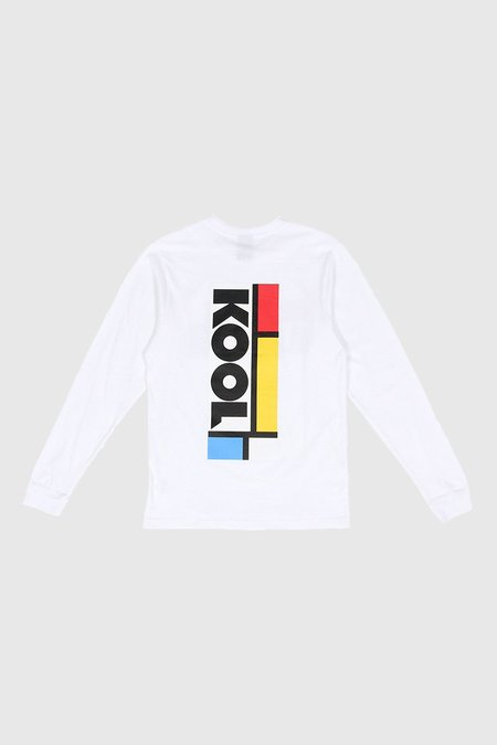 Perks & Mini Kool Long Sleeve T-Shirt - White
