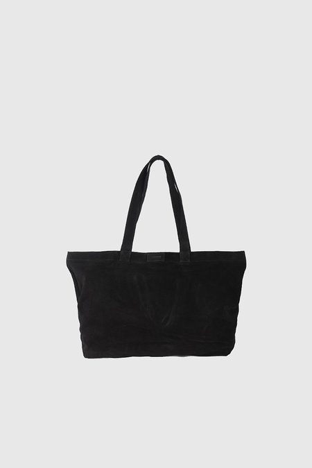 Coterie Suede Tote Bag - Black