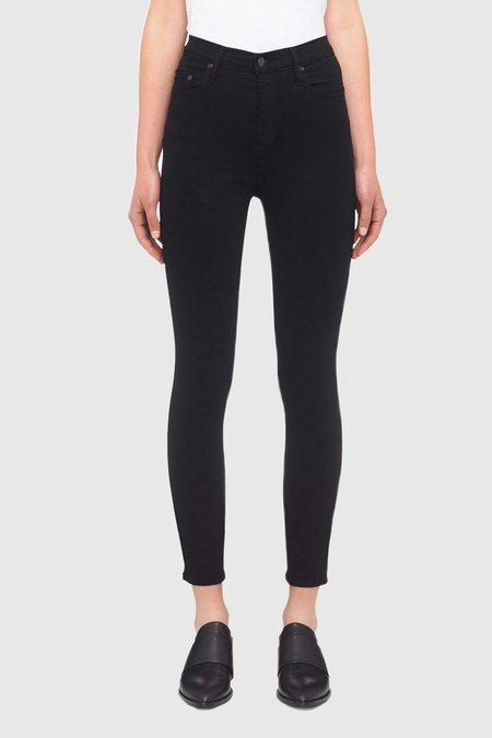 NOBODY DENIM Siren Skinny Ankle - Power Black