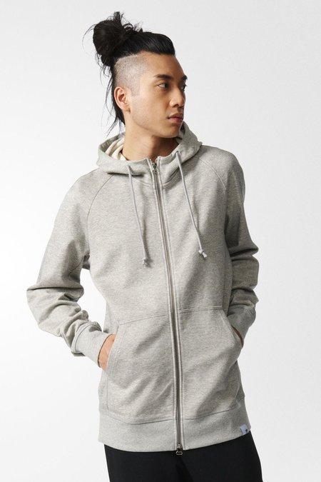 Adidas Originals XBYO Hoodie - Medium Grey Heather