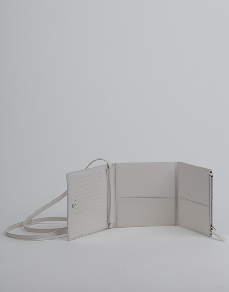 Helmut Lang Trifold CD Wallet - White
