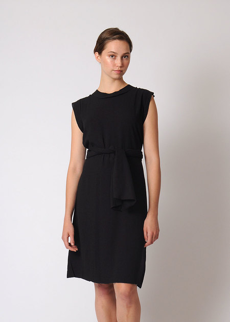 7115 by Szeki Frayed Edge Dress