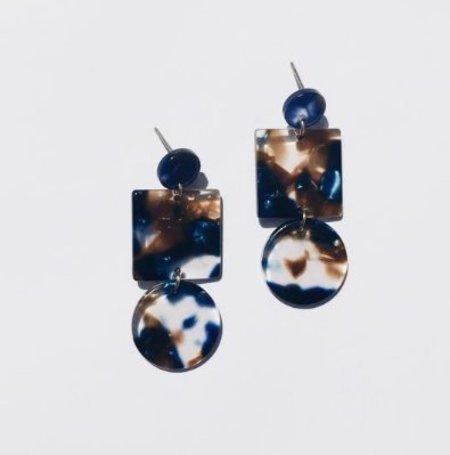 Sundara Mar Totem Earrings - Pacific