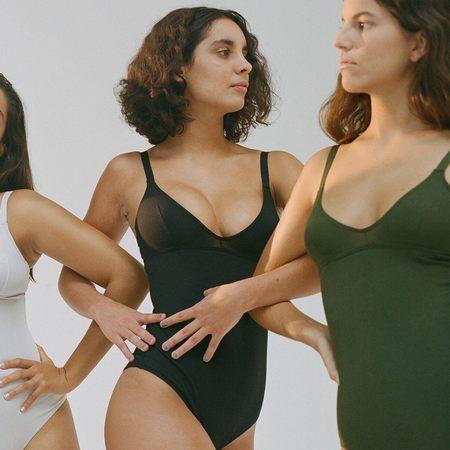 Nude Label Basic Bodysuit - Black