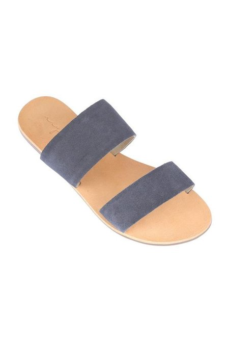 URGE KORA SANDALS - NAVY SUEDE