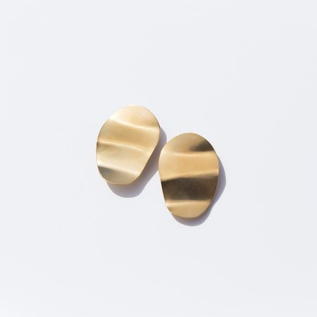 Seaworthy Caderas Earrings - Brass