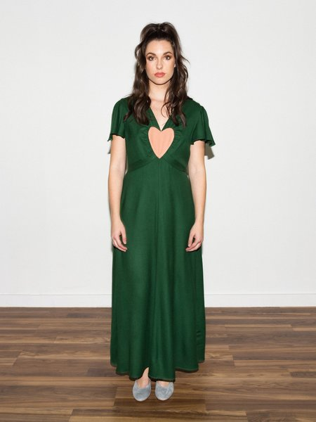 Samantha Pleet Gloriana Dress - Green