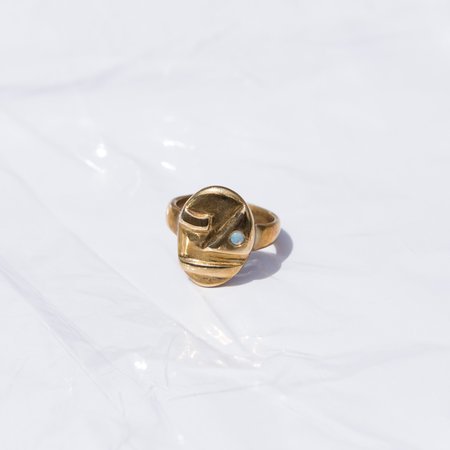Seaworthy Sophie Ring - Brass