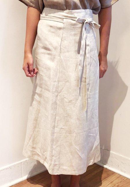 Nicole Kwon Concept Store Line Wrap Skirt