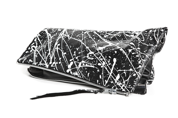 Mary Rich Large YVR Flap Clutch