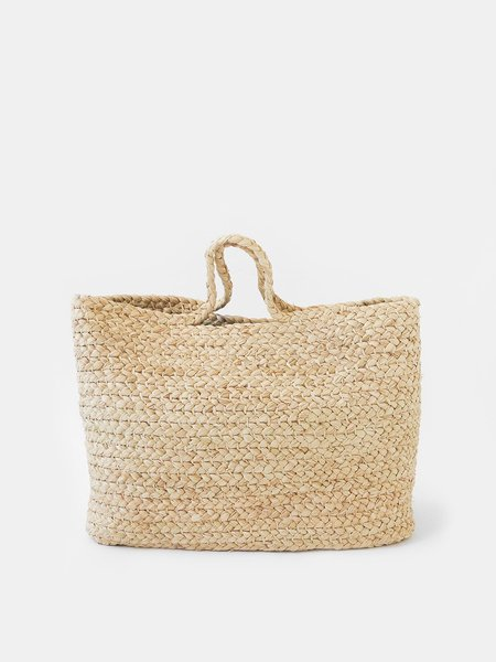 Indego Africa Braided Basket Bag