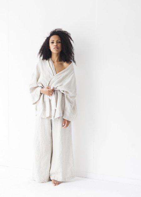 Deiji Studios The 01 Sleepwear Set - Oatmeal