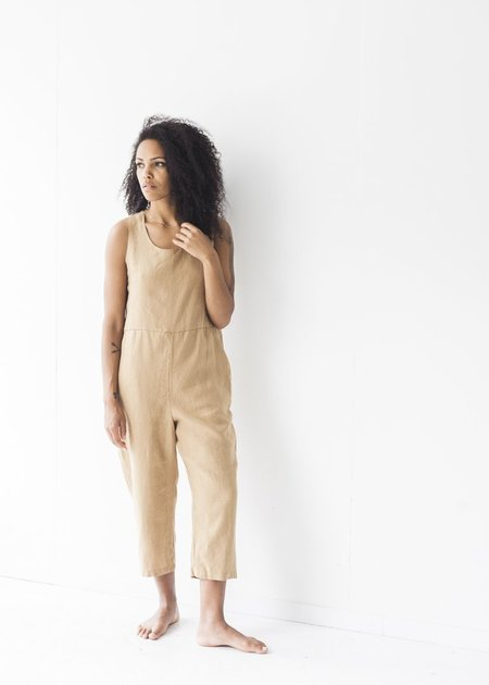 It Is Well LA Everyday Jumpsuit - Almond