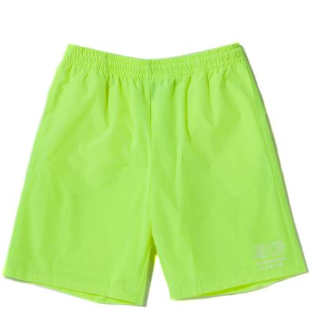 Born x Raised Wireframe Shorts - Neon Green