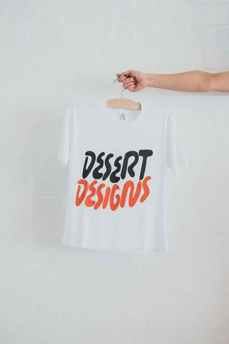 Dessert Designs Country Tee - White