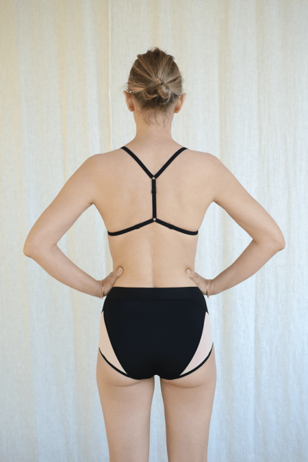 La Fille D'o Instant Eyes Bikini Bottom - Black