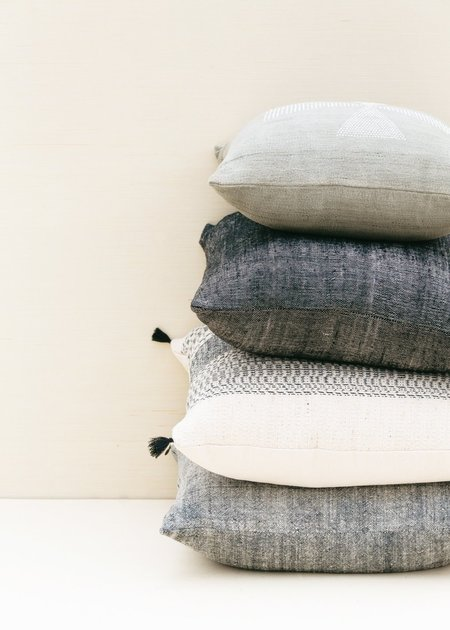 Territory Texture Pillow - Grey