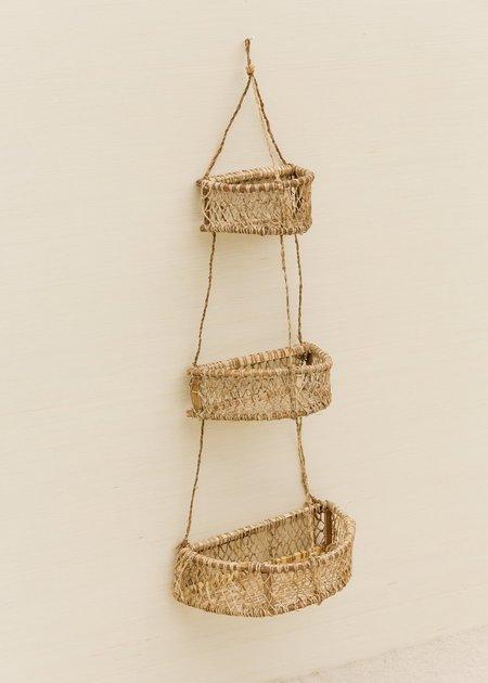 Territory Half Circle Jonote Hanging Basket - natural