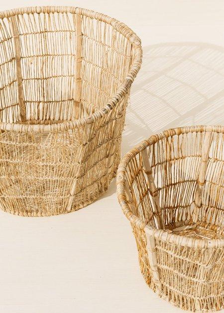 Territory Set of Two Jonote Storage Basket - Natural