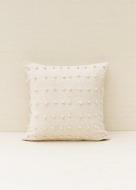 Territory Loops Pillow - Cream