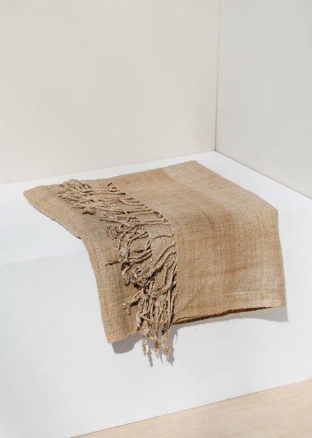 Territory Wild Silk Scarf - Natural