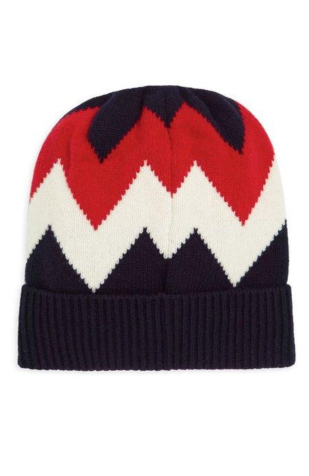 Moncler Cashmere Beanie Hat - Zig Zag