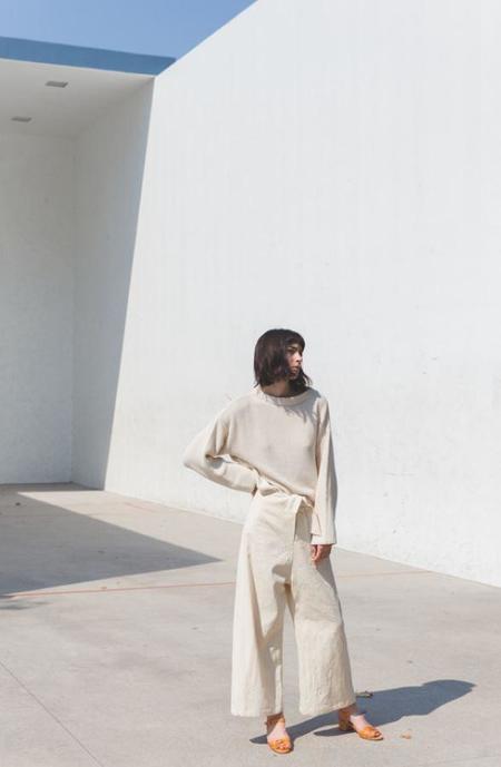 Micaela Greg Seed Sweater, Cream