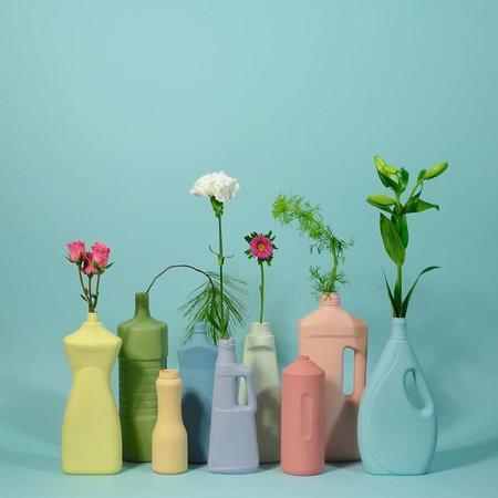 Middle Kingdom Motor Oil Bottle Vase