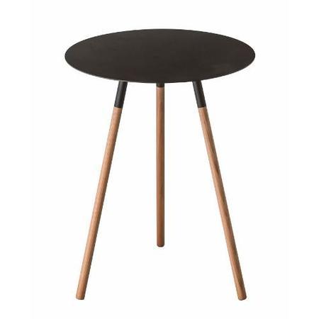 Yamazaki Home Plain Side Table - Black
