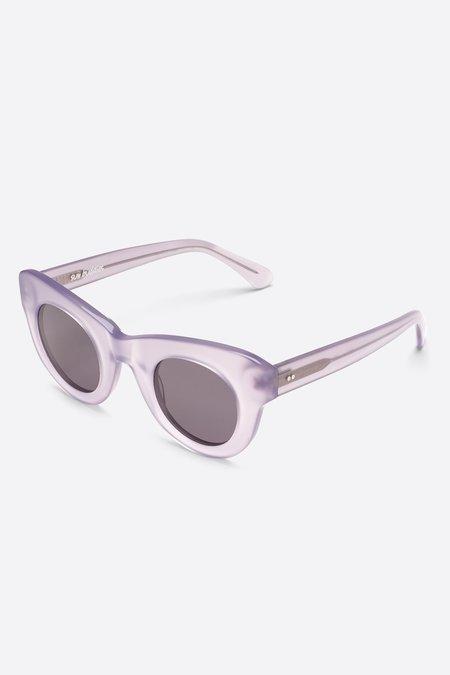 Unisex Sun Buddies Acetate Uma Sunglasses - Milky Shy Lavender