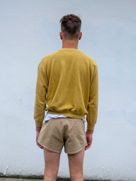 unisex VINTAGE ATHLETIC SHORTS - khaki