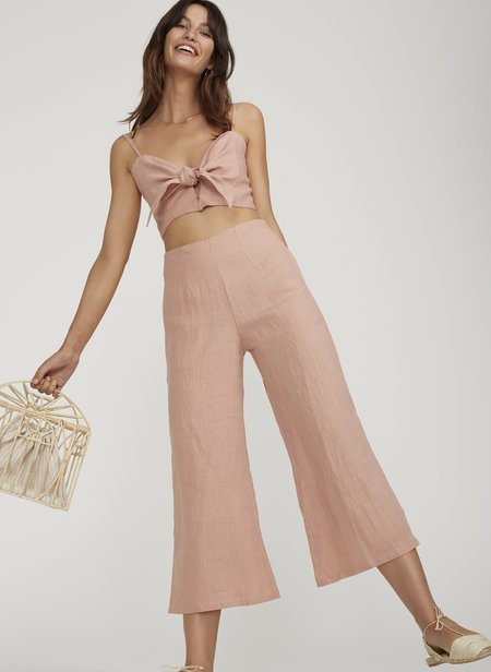FAITHFULL THE BRAND CARMEN PANT - VINTAGE PINK