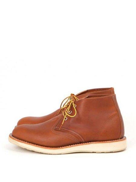 Redwing Oro Chukka Boot - TAN