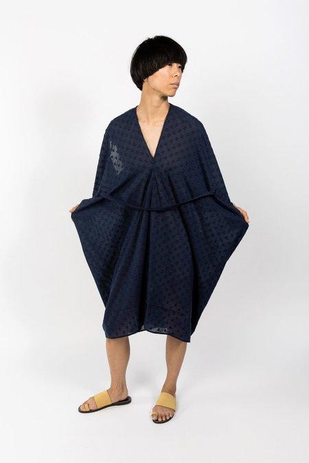 7115 by Szeki Kimono Dress - navy