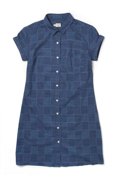 Bridge & Burn Loren shirtdress - Blue Check