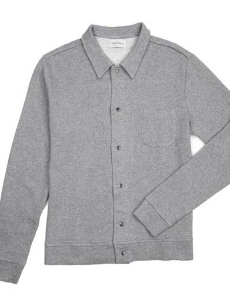 Oliver Spencer Rundell Jersey Jacket - Bryn Grey